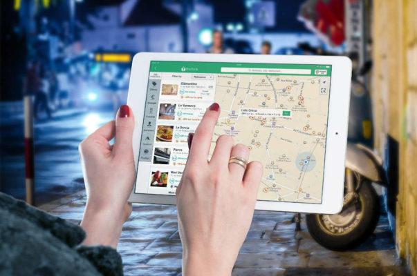 Sito web per ristoranti geo localizzazione