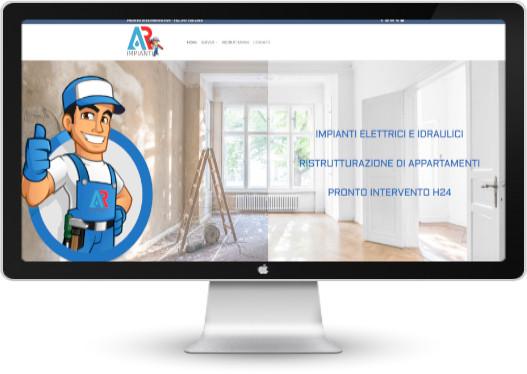 Esempio di sito web per impresa artigiana