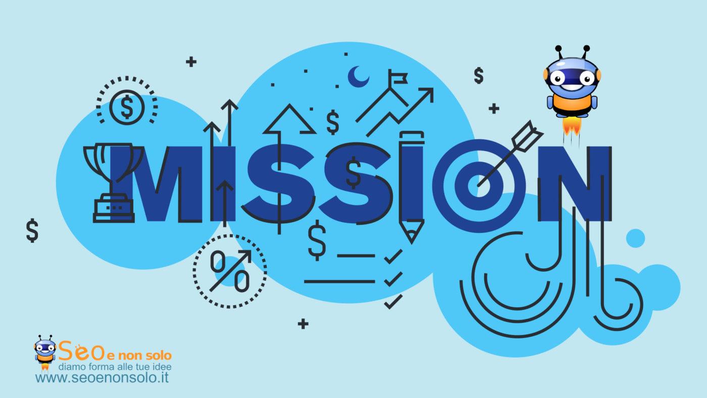 domande e risposte su mission del sito web