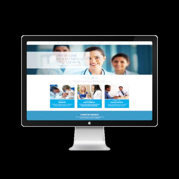 sito per uno studio medico